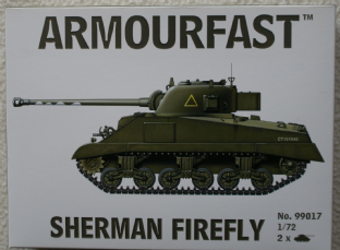 Armourfast 20mm 99017 M4 Sherman Firefly